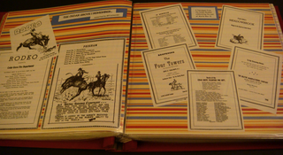Rodeo scrapbook